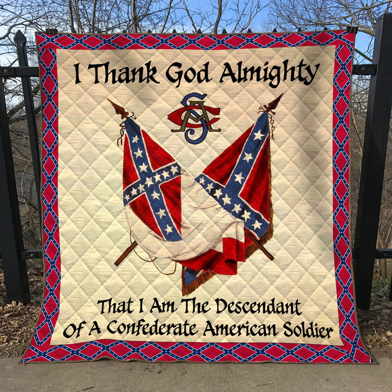 Limited Edition Southern Pride 3D Blanket  - QL-HG628