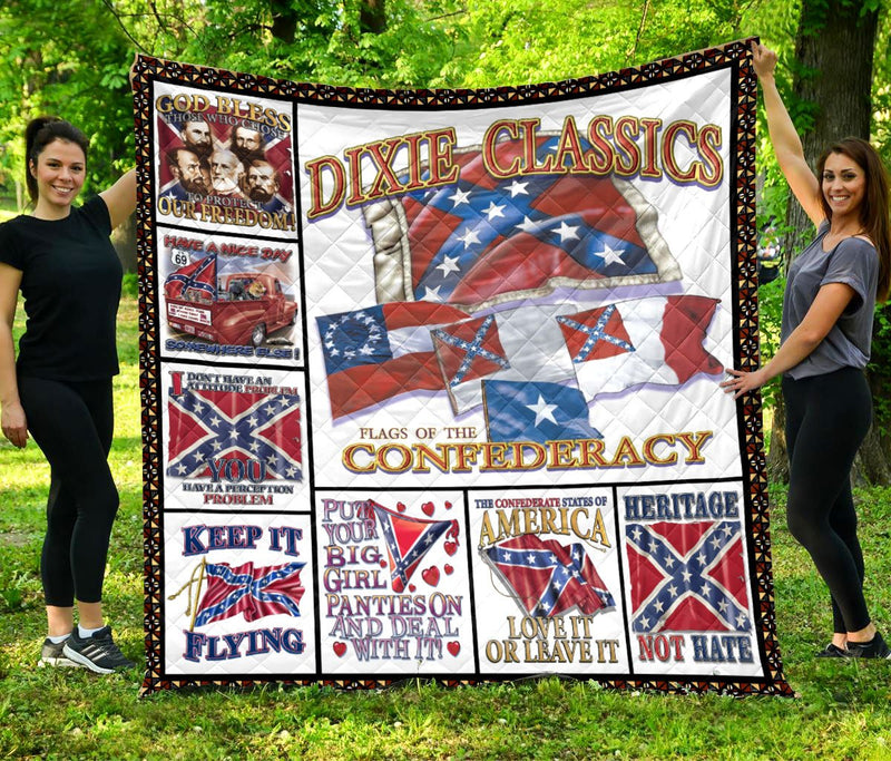 Limited Edition Southern Pride 3D Blanket  - QL-HG636