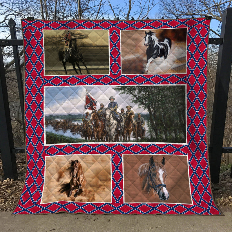Limited Edition Southern Pride 3D Blanket  - QL-HG637