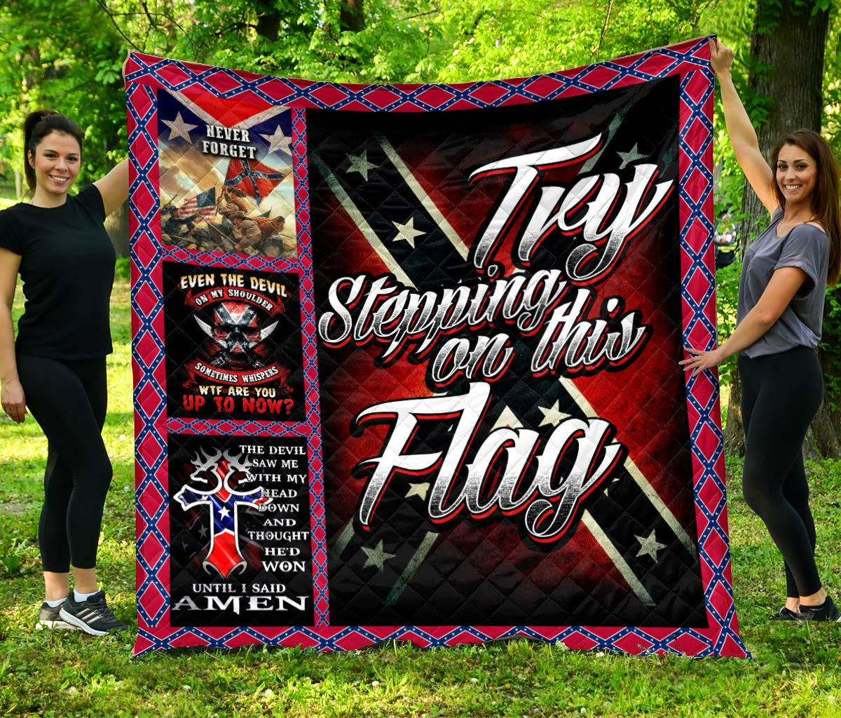 Limited Edition Southern Pride 3D Blanket  - QL-HG641