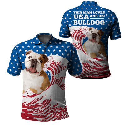 Limited Edition 3d apparel - US Flag dog 18