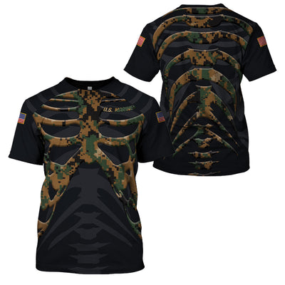 3D Print Full  Apparel - U.S Marine