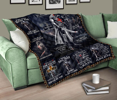 Trending Christian Quilt Collection - The Full Armor Of God Quilt ql-hg71 - GnWarriors Clothing