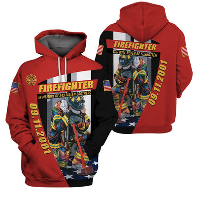Fire Fighter Clothing -  09/11 In My Memory