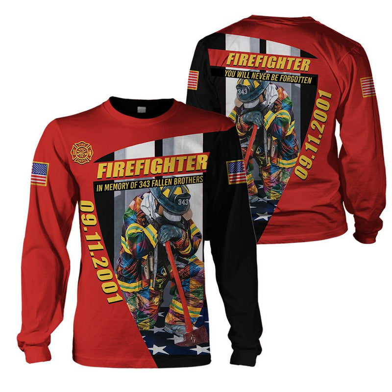 Fire Fighter Clothing -  09/11 In My Memory - 4zOutfitters Merchandise
