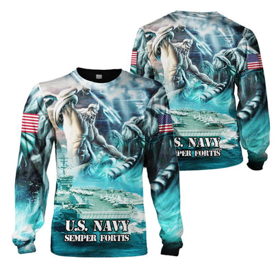 Limited Edition 3d apparel - US Navy 3