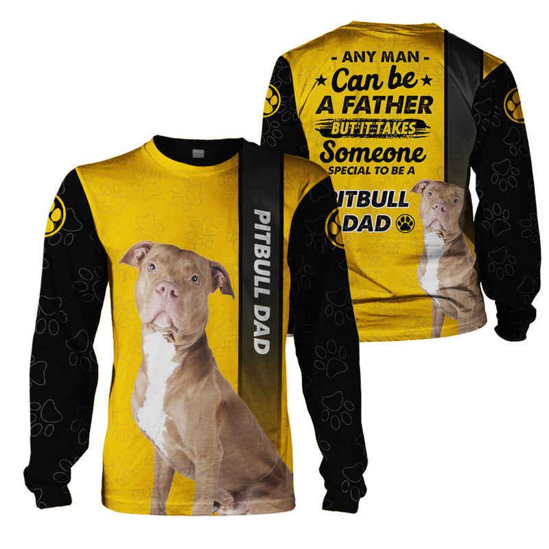 3d Apparel - Dog lover - pitbull dad