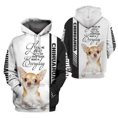 3D Print Full Chihuahua Apparel - GnWarriors Clothing
