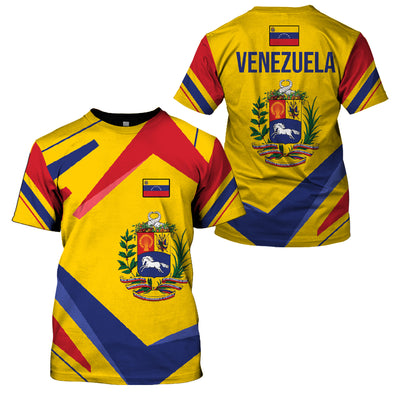 VENEZUELA LIMITED EDITION 3D FULL PRINTING - GnWarriors Clothing