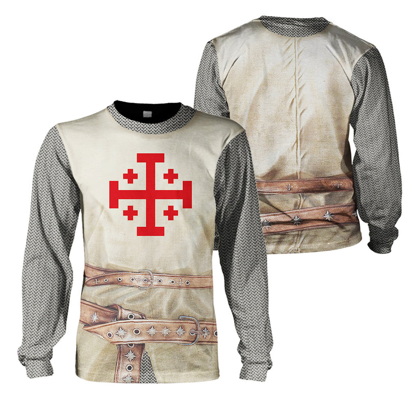 3D Knight - Order of The Holly Repulchre of Jerusalem - GnWarriors Clothing