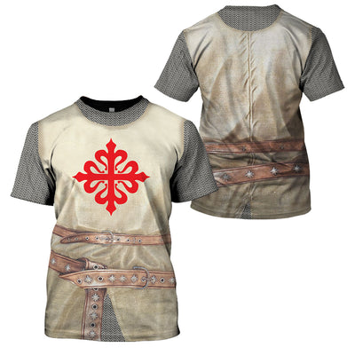 3D Knight - Order of Calatrava - GnWarriors Clothing