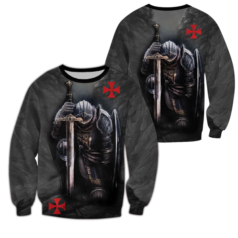Epic Knight Templar Apparel - All over 3D Printed Clothing - GnWarriors Clothing