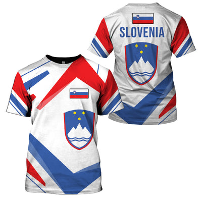 SLOVENIA LIMITED EDITION 3D FULL PRINTING - GnWarriors Clothing