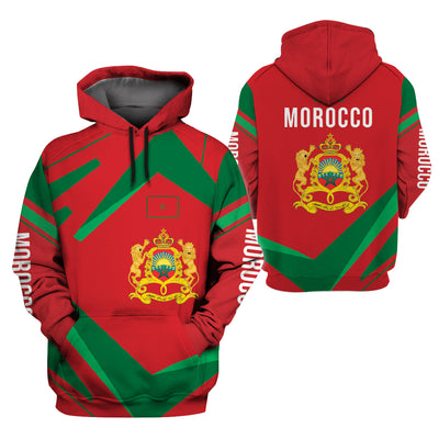 MOROCCO LIMITED EDITION 3D FULL PRINTING - GnWarriors Clothing