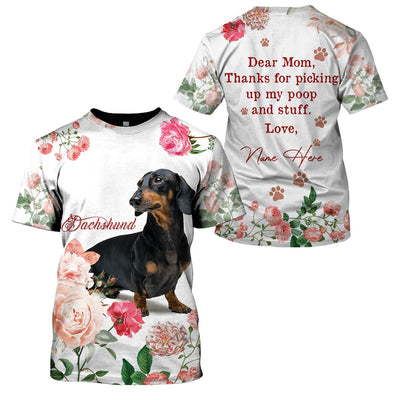 Best selling 3d apparel - Best dog mom customizable - 8