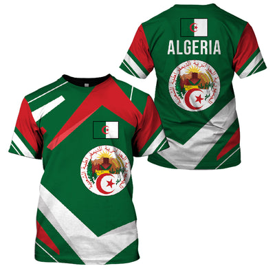 ALGERIA LIMITED EDITION NEW DESIGN - GnWarriors Clothing
