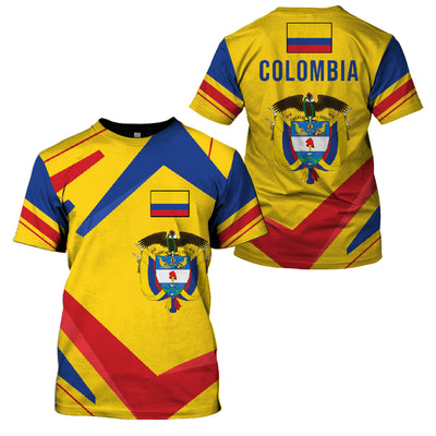 COLOMBIA LIMITED EDITION NEW DESIGN - GnWarriors Clothing