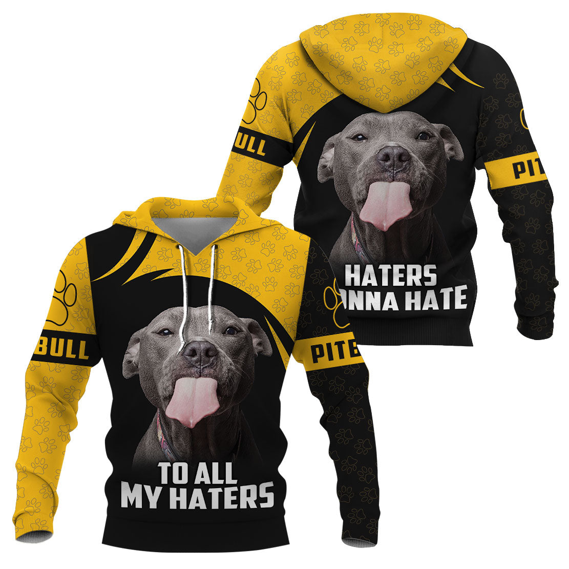 3D Apparel - To all my haters - Pitbull
