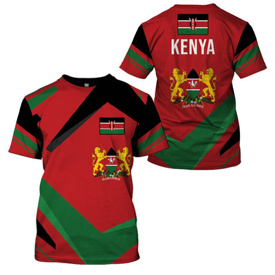 Limited Edition new 3d apparel - Kenya