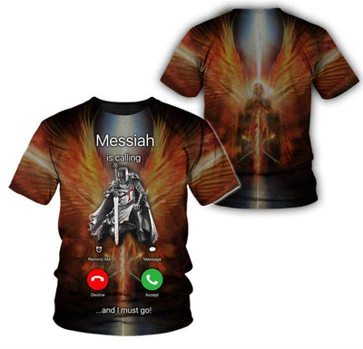 Epic 3D Knight Apparel -Messiah is calling - GnWarriors Clothing