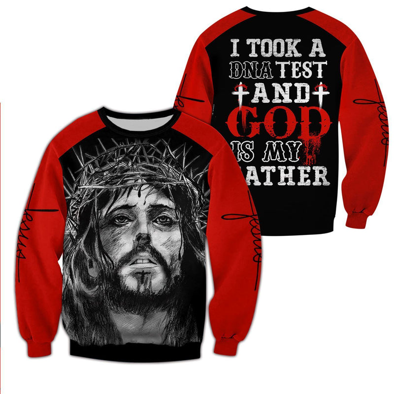 Trending 3D Christian Apparel - God is my father - GnWarriors Clothing