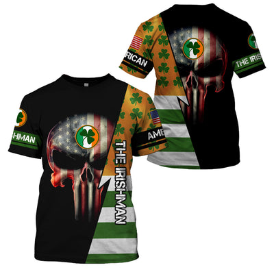Proud To Bear Both Irish And American Blood - GnWarriors Clothing