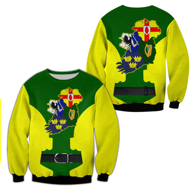 3D Happy St.Patrick's Day Custom T-shirt Hoodies Apparel - GnWarriors Clothing