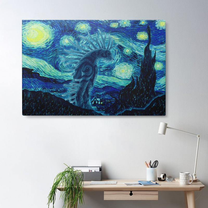 3D Canvas, Poster - Night Walker - 4zOutfitters Merchandise