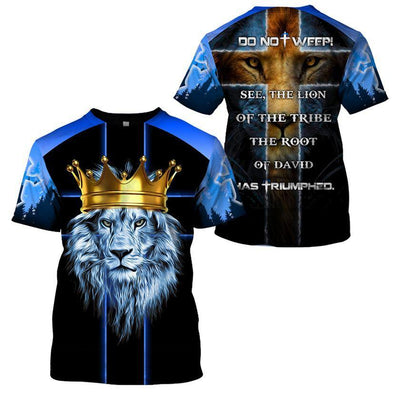 Trending 3D Christian Apparel - Do not weep - GnWarriors Clothing