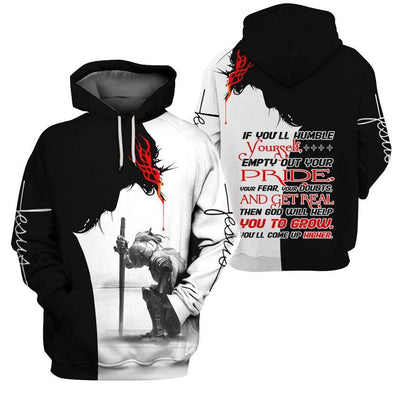 Trending 3D Christian Clothing - God Will Help You Grow - GnWarriors Clothing