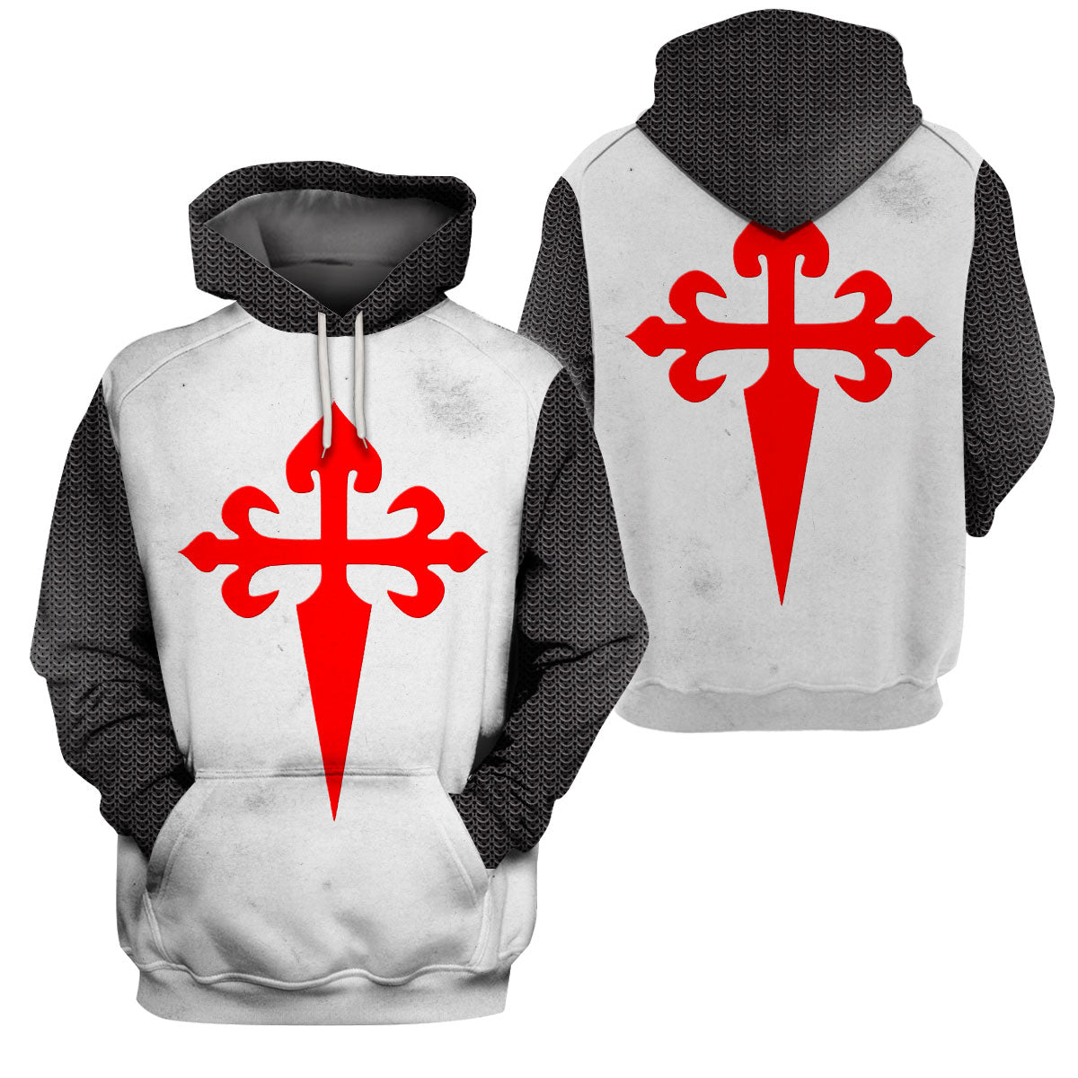 3D Printed Knight Templar Apparel - Of St James - GnWarriors Clothing