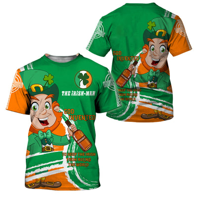 The Irish Man Fun Fact Limited Edition - GnWarriors Clothing