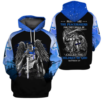 3D Thin Blue Line Apparel - Peacemaker Children Of God
