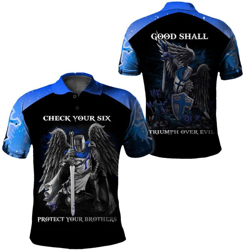 3D Police Apparel - Check Your Six, Protect Your Brothers - 4zOutfitters Merchandise