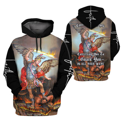 Angel Clothing 3D Printed - Saint Michael - GnWarriors Clothing