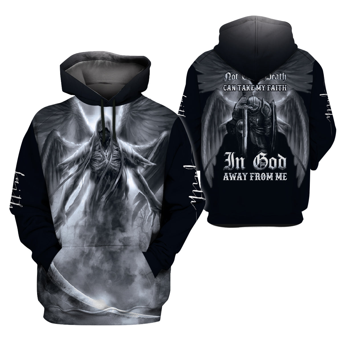 Angel Clothing 3D Printed - My Faith In God - GnWarriors Clothing