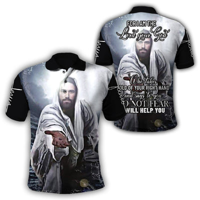 3D Christian Hoodie - For I Am The Lord Your God - GnWarriors Clothing