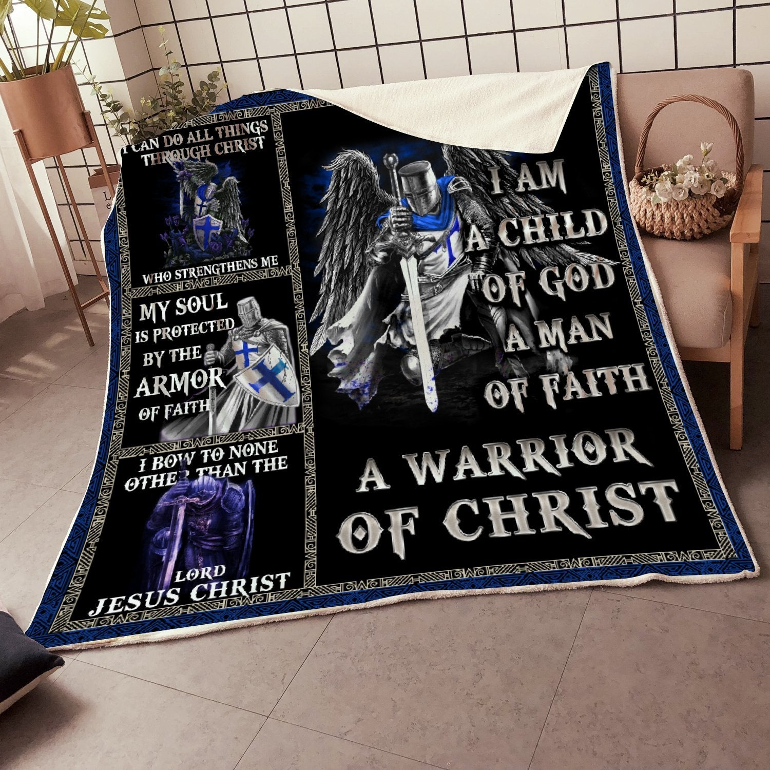 Trending Christian Quilt Collection -Child Of God Quilt - GnWarriors Clothing