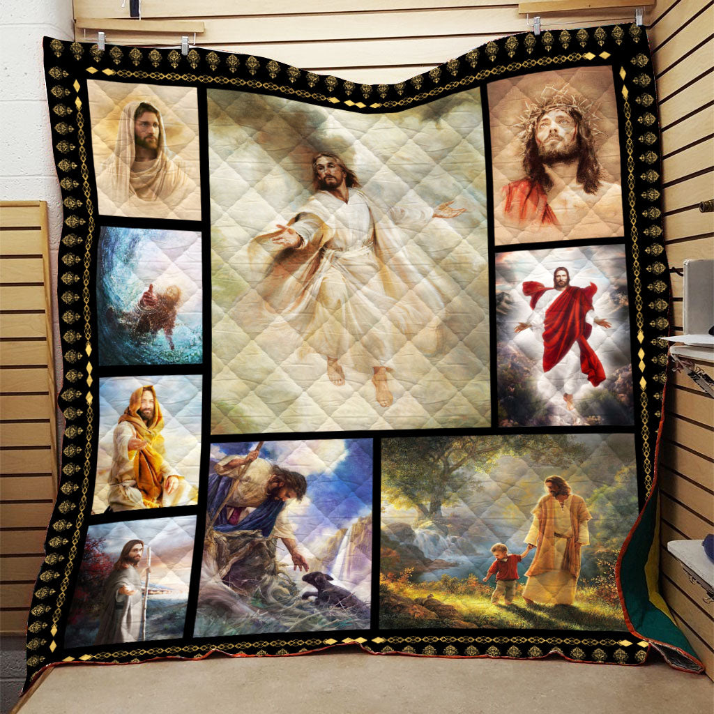 Christian 3D Printed Quilt - Take My Hand
