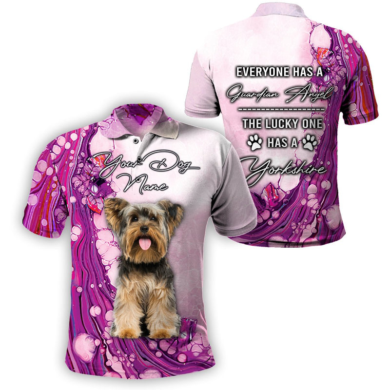 3D Customize Apparel - The Lucky One Has A Yorkshire - 4zOutfitters Merchandise