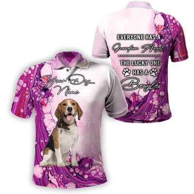3D Customize Apparel - The Lucky One Has A Beagles - 4zOutfitters Merchandise