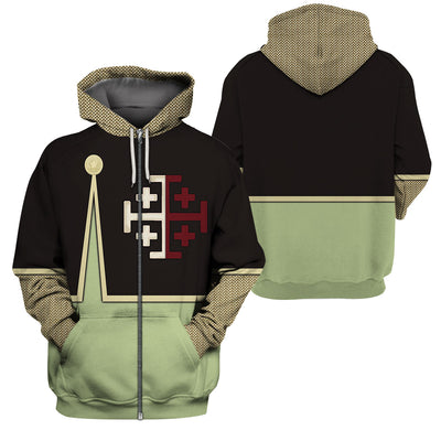 3D Knight Hoodie - Knight of Tripoli