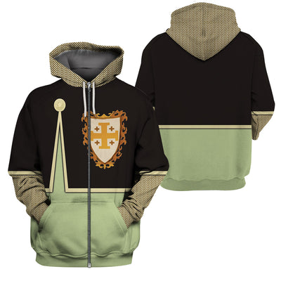 3D Knight Hoodie - Knight of Jerusalem