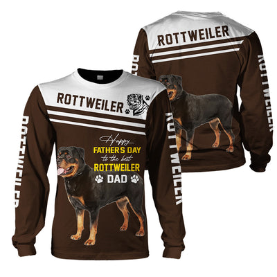 ROTTWEILER - 3D Print Full Animal Clothing - Father Day - GnWarriors Clothing
