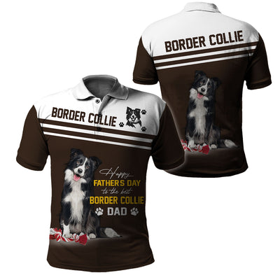 BORDER COLLIE- 3D Print Full Animal Clothing - Father Day - GnWarriors Clothing