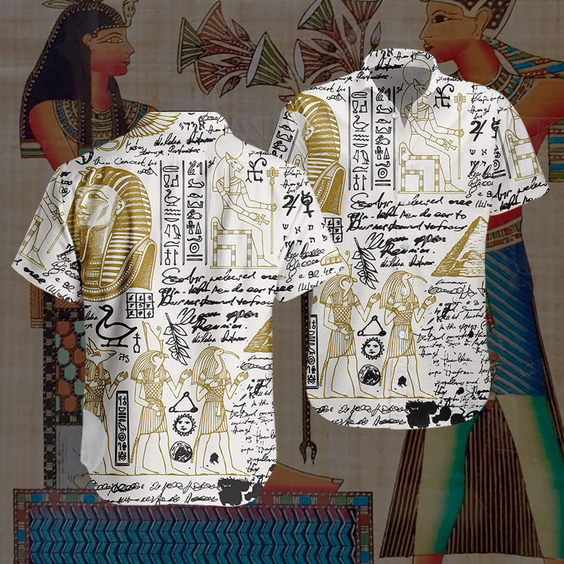 3D Hawaiian Design - Egyptian