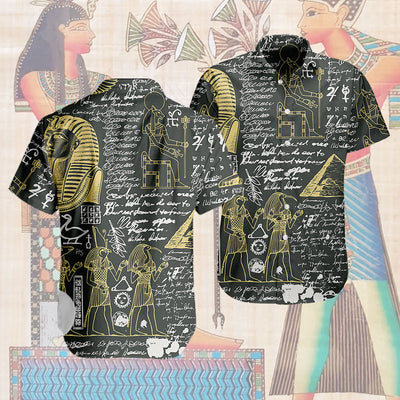 3D Hawaiian Design - Egyptian Black Gold