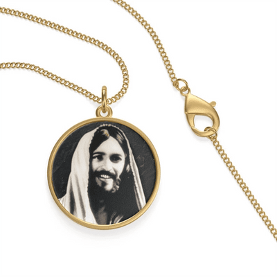 Jesus Smile Single Loop Necklace - GnWarriors Clothing