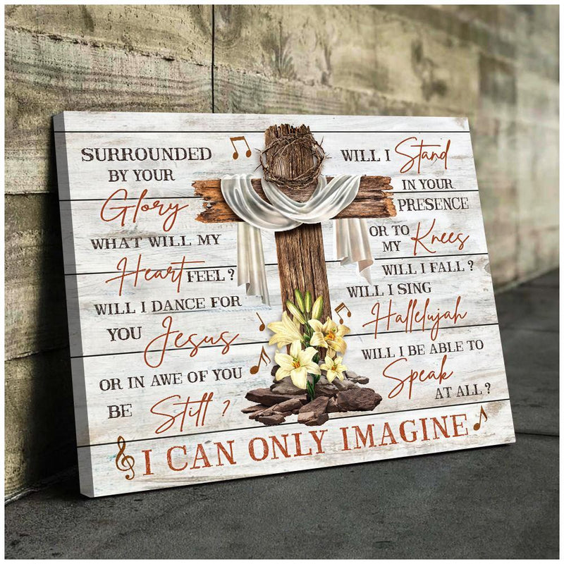 Canvas - Family - I Can Only Imagine  - Portrait - GnWarriors Clothing