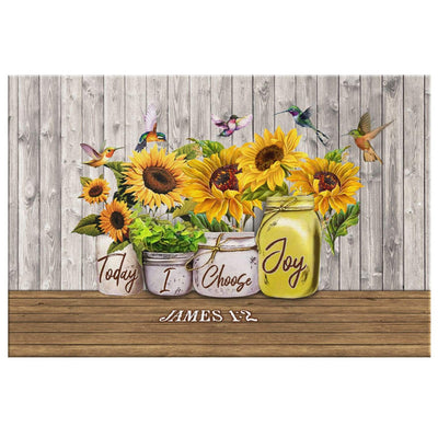 James 1:2 Today I choose Joy canvas wall art - GnWarriors Clothing